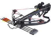 Блочный арбалет Man-Kung MK-350 черный + запасные плечи