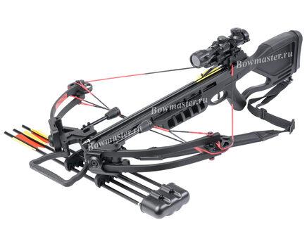 Купите блочный арбалет Man-Kung MK-380 черный в Москве в интернет-магазине