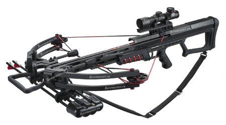 купите Блочный арбалет Man-Kung МК-400 черный в Москве