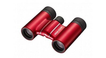 купите Бинокль Nikon Aculon T01 10*21 красный (ВАА804SВ) в Москве