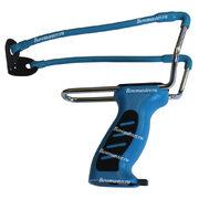 Рогатка спортивная Man-Kung MK-SL08/BL (синие рукоять и тетива)