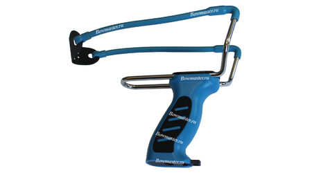 купите Рогатка спортивная Man-Kung MK-SL08/BL (синие рукоять и тетива) в Москве