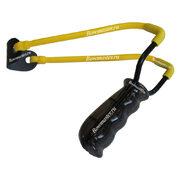 Рогатка детская Man-Kung MK-T5 (черная рукоять, желтая тетива)