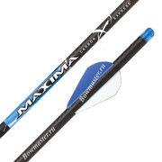 Стрелы для арбалета (болты) Carbon Express Maxima Blue Streak 20 и 22 дюйма