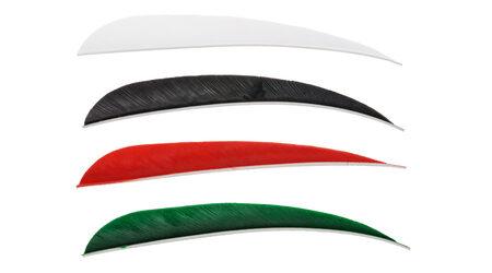 купите Натуральное оперение для стрел Bowmaster 5 дюймов Feather Рarabolic в Москве