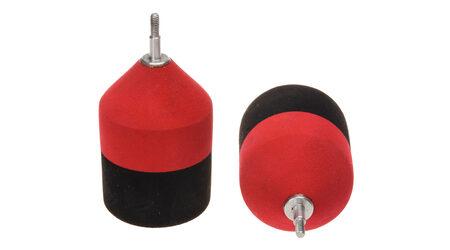 купите Наконечники спортивные Bowmaster - Резиновый, диаметр 35 мм. Цвет - красный. в Москве