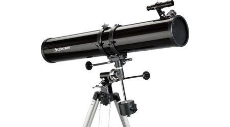 Телескоп Celestron PowerSeeker 114 EQ (рефлектор Ньютона, 114мм, F=900мм, 1:7.8) на экваториальной монтировке