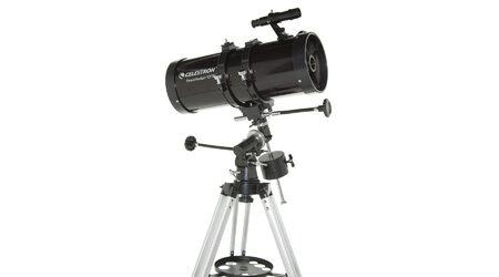 Телескоп Celestron PowerSeeker 127 EQ (рефлектор Ньютона, 127мм, F=1000мм, 1:7.9) на экваториальной монтировке