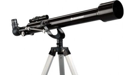 Телескоп Celestron PowerSeeker 60 AZ (рефрактор, 60мм, F=700мм, 1:12) на азимутальной монтировке