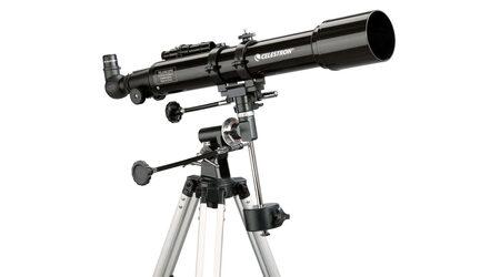Телескоп Celestron PowerSeeker 70 EQ (рефрактор, 70мм, F=700мм, 1:10) на экваториальной монтировке