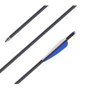 """Стрела карбоновая для арбалета Bowmaster 20 дюймов 11/32"""" оперение 3.75"""""""