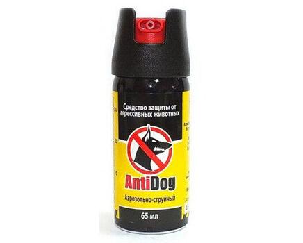 Купите перцовый баллончик АнтиДог 65 мл струйно-аэрозольный для самообороны в интернет-магазине