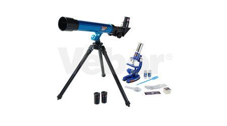 Микроскоп-монокуляр детский MP-450 и телескоп