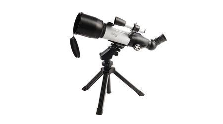 Телескоп Veber 350х70 AZ в кейсе (рефрактор, 70мм, F=350мм, 1:5) на азимутальной монтировке