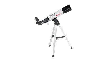 Телескоп Veber 360/50 AZ в кейсе (рефрактор, 50мм, F=360мм, 1:7.2) на азимутальной монтировке