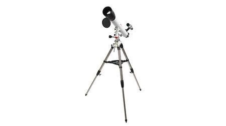 Телескоп Veber PolarStar 900/90 EQ (рефрактор, 90мм, F=900мм, 1:10) на экваториальной монтировке