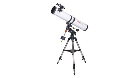 Телескоп Veber PolarStar 900/114 EQ (рефлектор Ньютона, 114мм, F=900мм, 1:11.8) на экваториальной монтировке