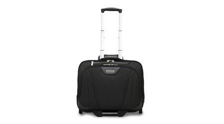 Деловой мини-чемодан кейс на колесах для ноутбука до 17 дюймов Wenger Swiss 72992295