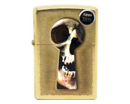 Купите бензиновую зажигалку Zippo 28540 Keyhole Skull в интернет-магазине
