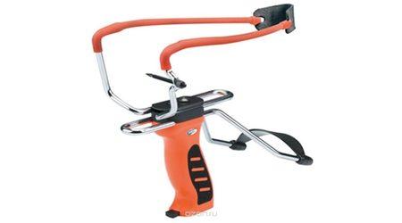 Рогатка Man Kung SL06 с упором, оранжевая