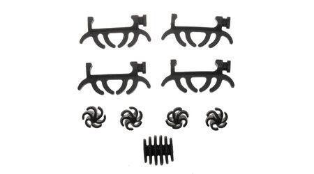 Виброгасители для блочного лука Bowmaster — комплект для тетивы, плечей и отвода