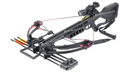 Блочный арбалет Man-Kung MK-380 черный