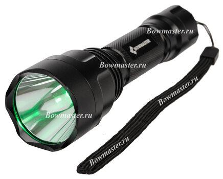 Купите светодиодный фонарь для охоты зеленого света Bowmaster 202 Flash Green (Cree Q5) 250 люмен в магазине