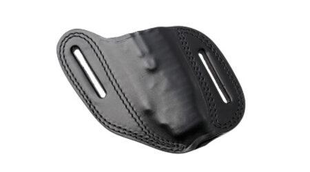 Ножны для ножей Pohl Force Foxtrott из черной кожи / 3023